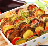 Овощи печеные (перец болгарский, баклажан, помидор, кабочок)