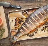 Рыба запеченная целиком Кета