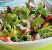 Салат микс с морепродуктами