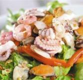 17.Морепродукты с овощами ВОК (мидии, кальмары, креветки, рапаны, осминоги)